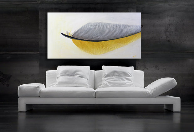 Blissed Out by Preethi Arts- 24x48 - Original Contemporary Modern Abstract Paintings by Preethi Arts