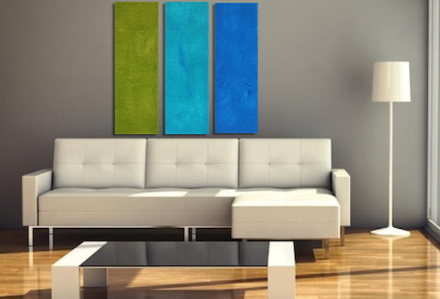 Rendezvous by Preethi Arts- 36x36 - Original Contemporary Modern Abstract Paintings by Preethi Arts