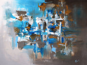 Skyland by Preethi Arts- 30x40 - Original Contemporary Modern Abstract Paintings by Preethi Arts