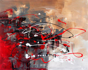 Gazing by Preethi Arts- 24x30 - Original Contemporary Modern Abstract Paintings by Preethi Arts