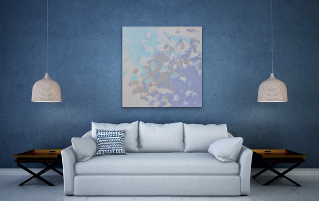 Heavenly by Preethi Arts- 36x36 - Original Contemporary Modern Abstract Paintings by Preethi Arts