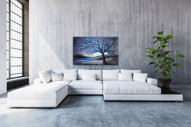 Long life by Preethi Arts- 30x48 - Original Contemporary Modern Abstract Paintings by Preethi Arts