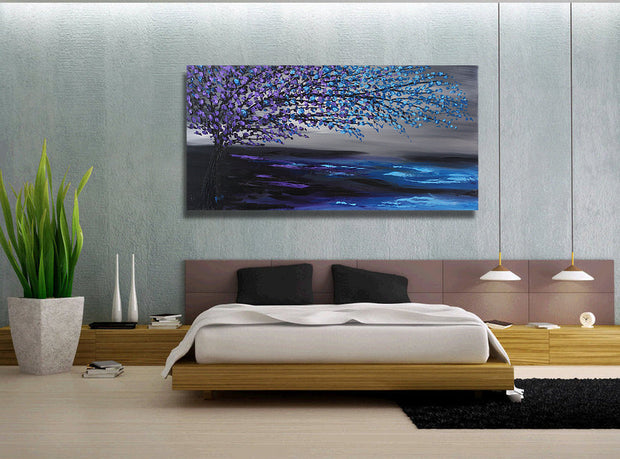 Amazing by Preethi Arts- 24x48 - Original Contemporary Modern Abstract Paintings by Preethi Arts