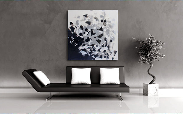Formula by Preethi Arts- 36x36 - Original Contemporary Modern Abstract Paintings by Preethi Arts