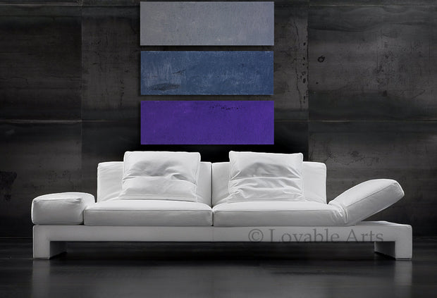 Tranquility by Preethi Arts- 36x36 - Original Contemporary Modern Abstract Paintings by Preethi Arts