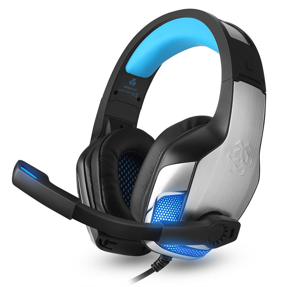 914f4d43a9e Hunterspider V-4 3.5mm Wired Gaming Headsets Over Ear Headphones Noise –  Game head...gamehead