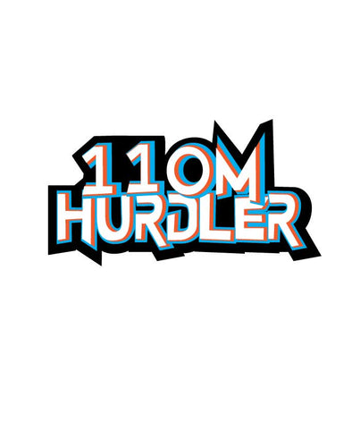 Sticker - 110M Hurdler