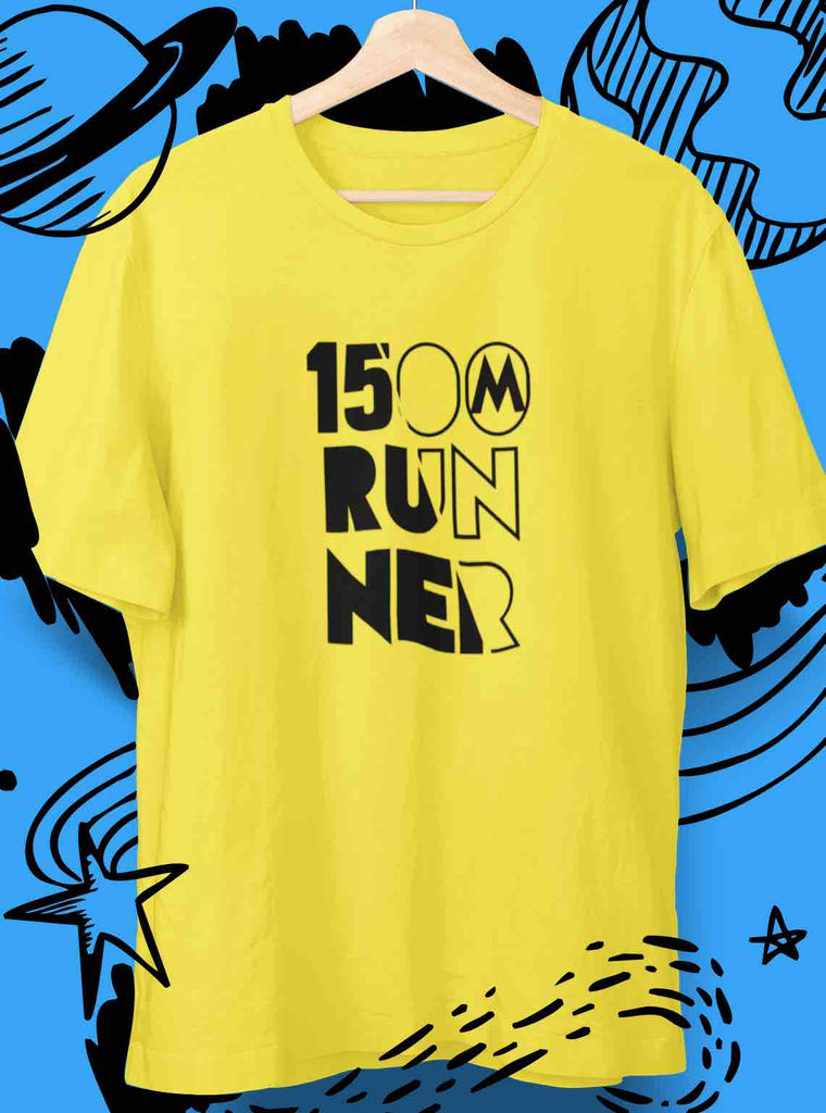 Yellow 1500M T-shirt
