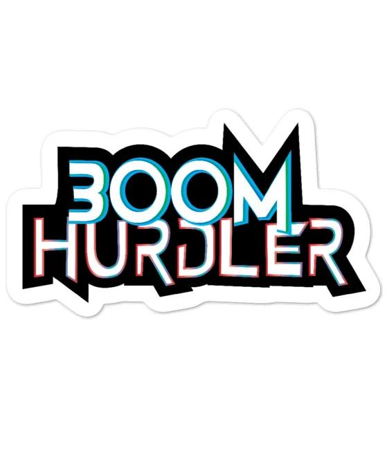 laptop Sticker - 300M Hurdler Sticker