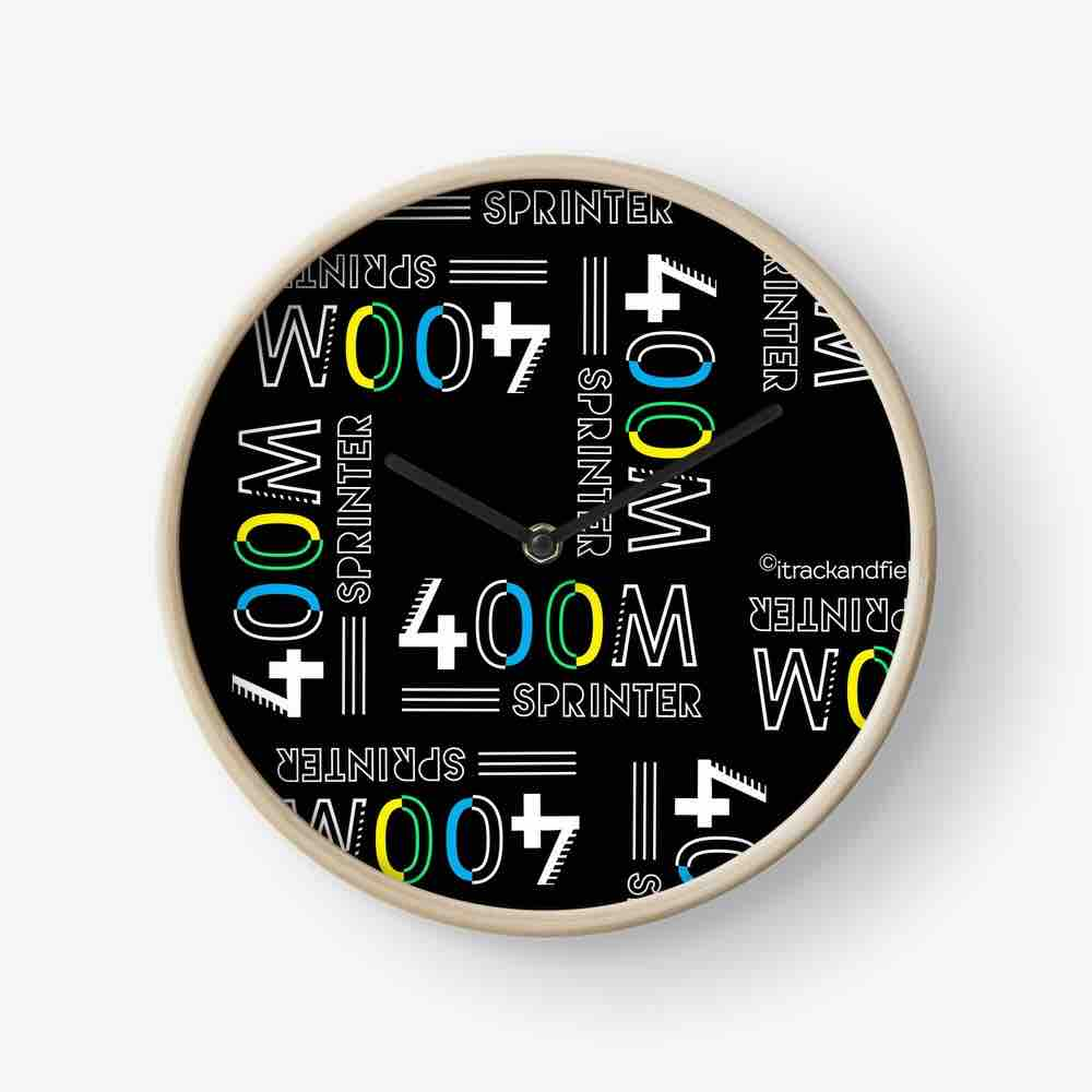 400m Sprinter Clocks