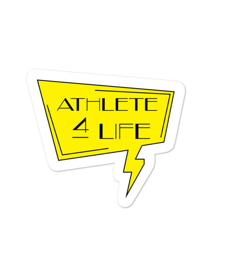 Athlete For Life Sticker