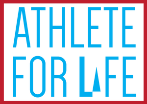 Iron On Sticker - Athlete For Life