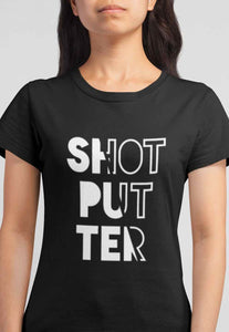 Female Shotputter T-shirt
