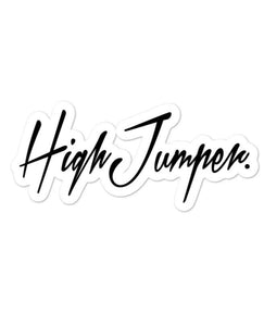 Athletic Stickers - Highjumper