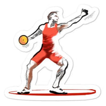 Load image into Gallery viewer, waterproof Stickers - Discus Thrower Sticker