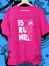 Load image into Gallery viewer, pink womens 1500m Tshirt