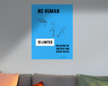 Load image into Gallery viewer, Inspirational Poster - No Human is Limited