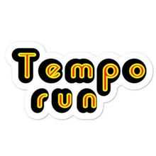 Load image into Gallery viewer, Tempo Run Distance Runner Sticker