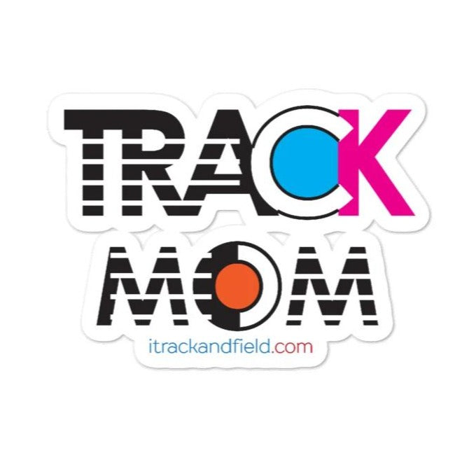 Track Mom Stickers - wateproof Stickers