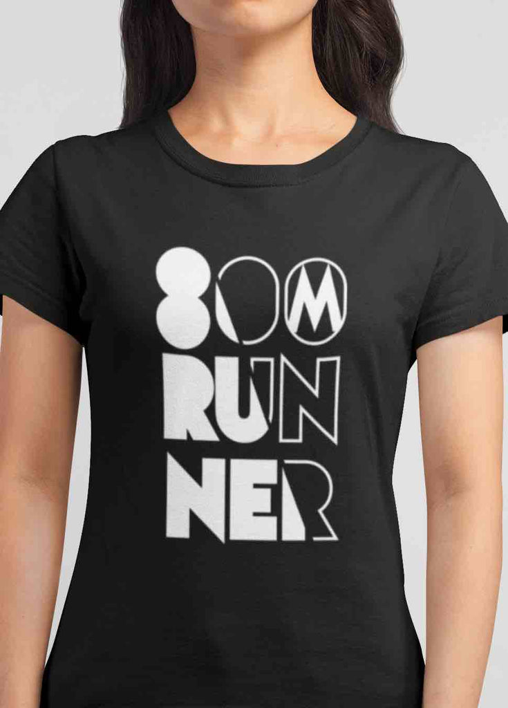 Womens 800 meter runner T-shirt