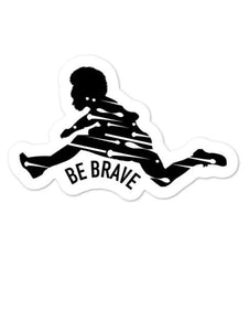 Female 100 Meter Hurdler Sticker