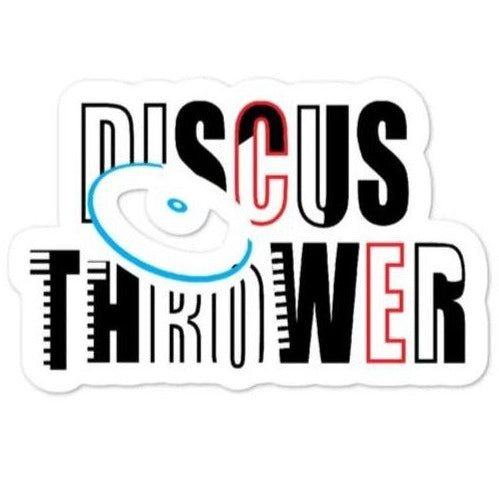 Discus Thrower Sticker