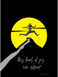 Inspirational Poster - My Kind Of Joy, Triple Jump Poster
