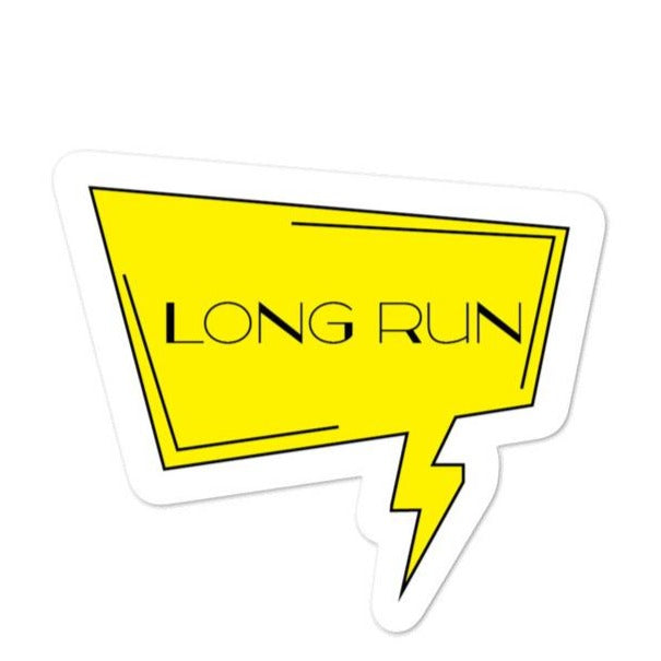 Long Run Sticker