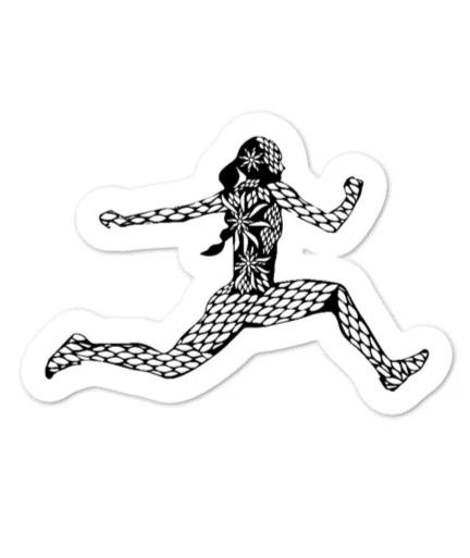 Hydroflask Sticker - Triple Jump Sticker