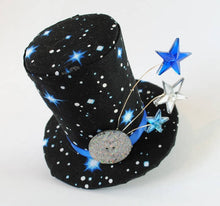Starry Mini Top Hat Fascinator.