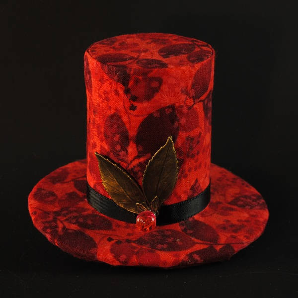 Autumn Leaves Mini Top Hat Fascinator.