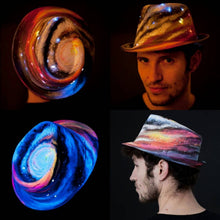 Light-Up Galaxy Space Hat.