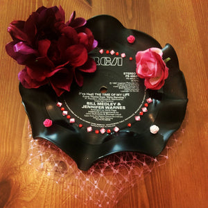 Dirty Dancing Record Fascinator.