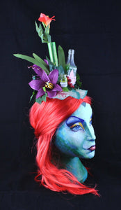 Poison Ivy Cosplay Fascinator.