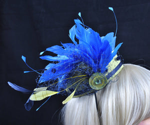 Bespoke Pillbox Hat, Made to Match.