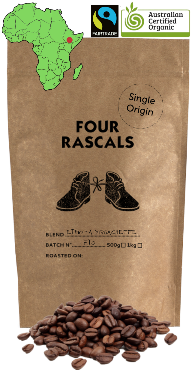 Ethiopia Yirgacheffe Natural - Fairtrade Organic