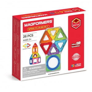Magformers Basic Plus 26pc Set
