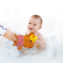 Load image into Gallery viewer, Teddy & Duck Bath Mitt Set
