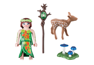 Fairy with Deer