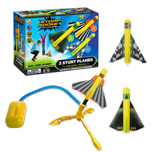 Stomp Rocket Stunt Plane