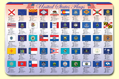State Flags Placemat