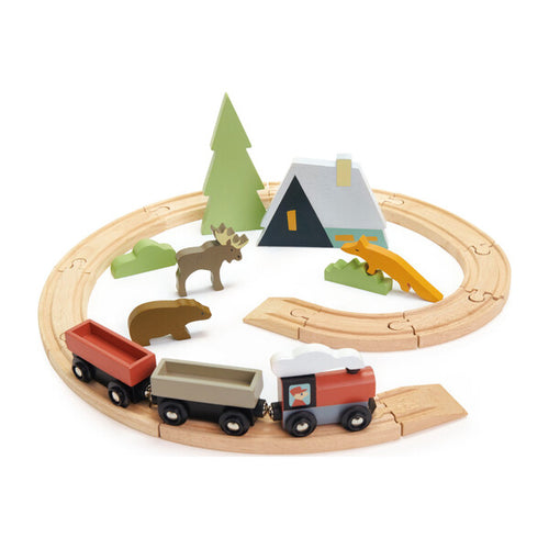 Treetop Train Set