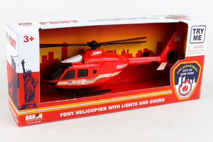 FDNY Fire Helicopter with Lights & Sounds