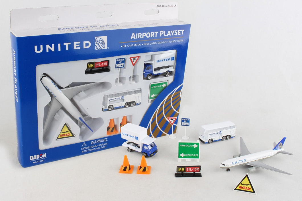 United Airport Play Set