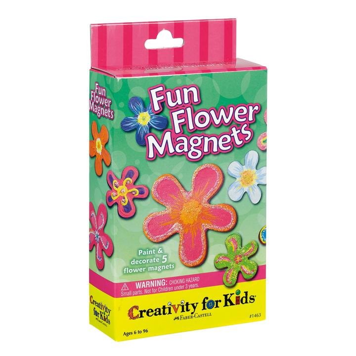 Fun Flower Magnets