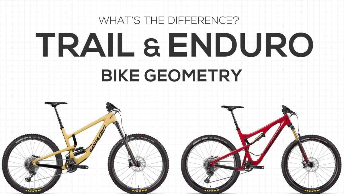 What is the Difference between Trail and Enduro Bikes