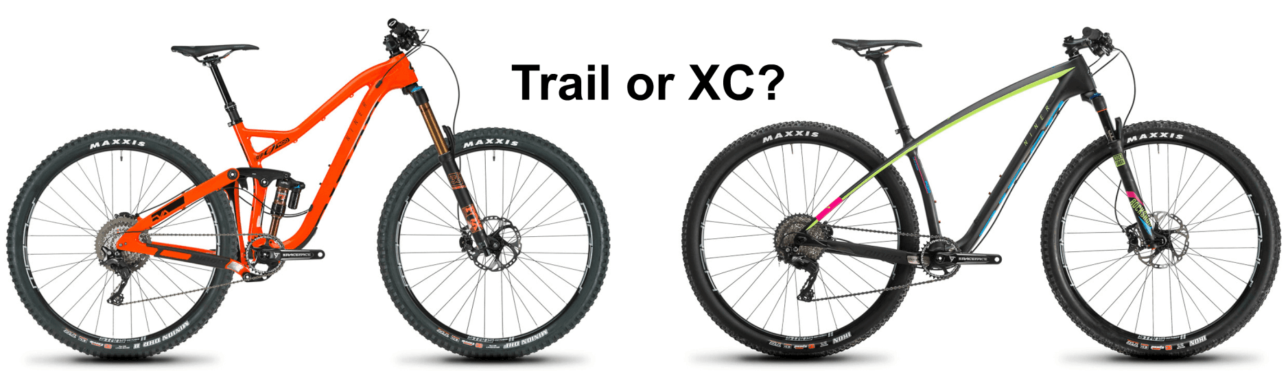 What is the Difference Between XC and Trails Mountain Bikes