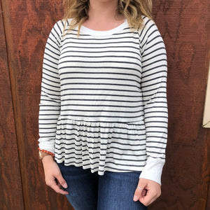 Nicole Striped Top