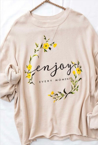 Enjoy Every Moment Sweater