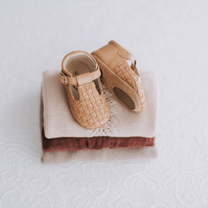 Mabel - Weave T-bar - Soft sole